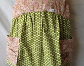 Paisley and Dots 2 Piece Romper - Size 5/6 - READY TO SHIP