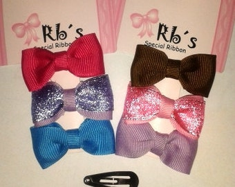 25 Baby Hair Bows (each with 3 bows)