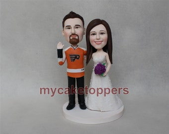 funny wedding/ cake topper for wedding/ jersey cake topper/ sport cake topper/ sport