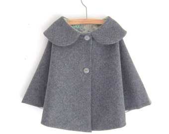 Childs Wool Cape