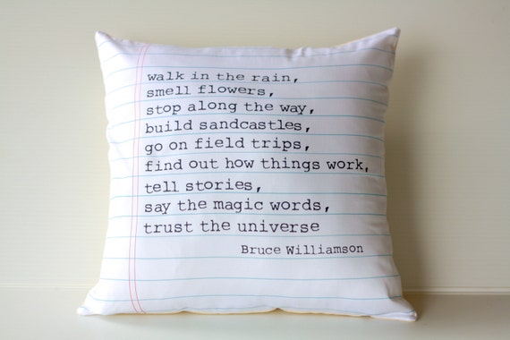 16x16 cushion decorative pillow POEM cushion, 40cm cushion cover Organic cotton,16inch cushion cover, 16x16 pillow, decorative pillow