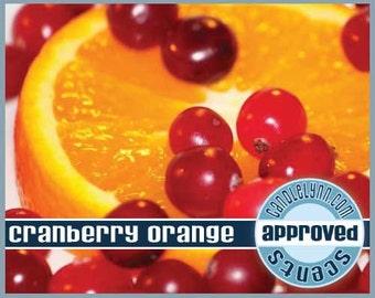 CRANBERRY ORANGE Fragrance Oil, 2 oz.