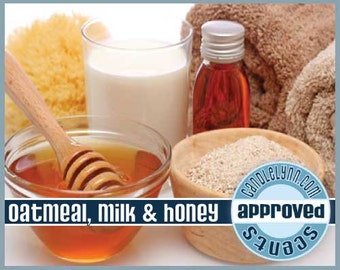 OATMEAL, MILK & HONEY Fragrance Oil, 1 oz