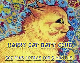Fiber Club - Happy Cat subscription - 3oz per month - 3 months