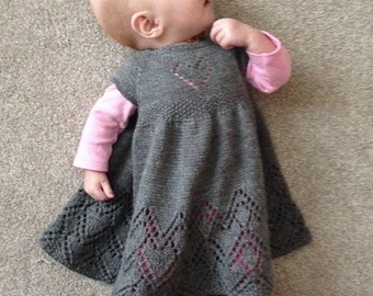 Helen Joyce Baby Dress PDF pattern in english and Italian Polish
