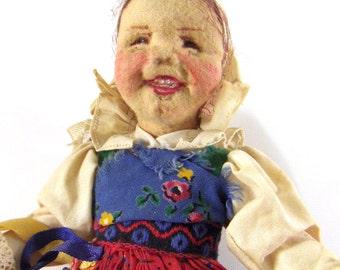 Vintage Elli Riehl Doll - Rare Doll - Austria - epsteam vestiesteam thebestvintage