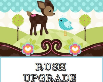 RUSH upgrade for Growth Charts