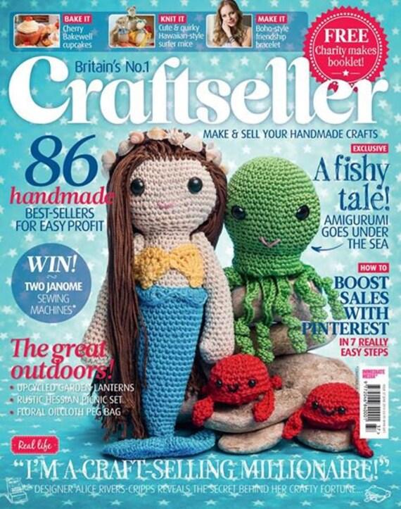 Amigurumi Craft Magazine : Amigurumi mermaid crochet pattern by Liz Ward by ...