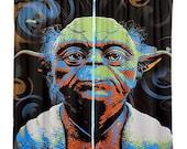 Home Decor Yoda Pop Art curtain