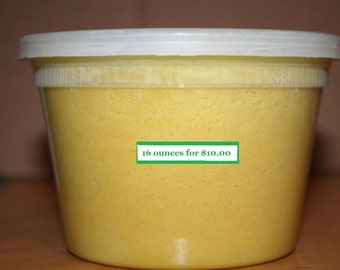 16 Ounces of African Shea Butter (US & Canada shipping)