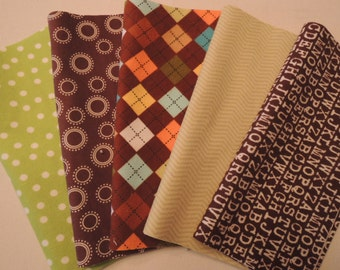 Rag Quilt Kit, Easy to Make, All Flannel, Personalized