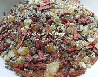 MEDITATION Herb and Resin Ritual Incense Blend