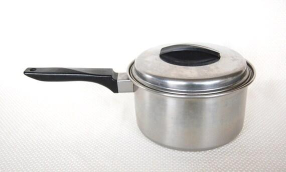 Ekco Flint 2 Quart Stainless Steel Saucepan By