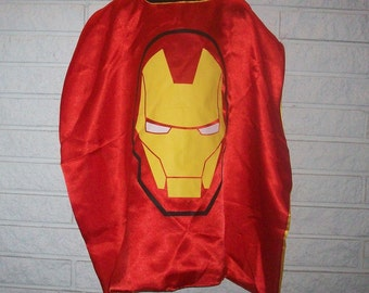 Iron Man Inspired Cape