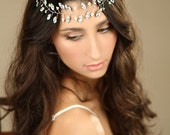 sparkle Rhinestones hair vine/ Wedding hair vine/ Wedding hair accessories/ Bridal Hair Vine/ Tiaras
