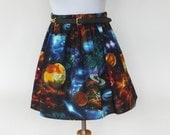 Galaxy Space Planets Skirt Lolita