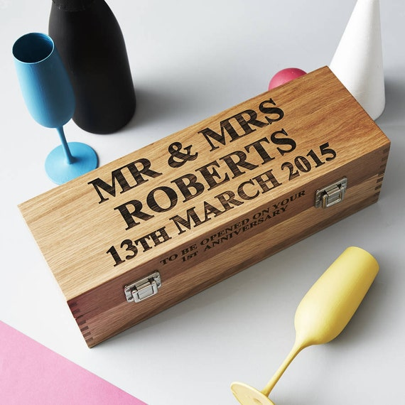 Wedding Gift Personalised Box : ... Gifts Guest Books Portraits & Frames Wedding Favors All Gifts
