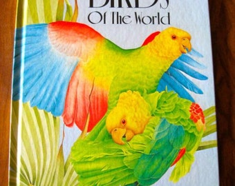 Birds Of The World by Polly Greenberg Illustrated by Philip Rymer Vintage 1983 Book