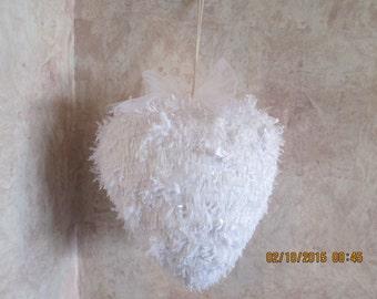 """18"""" Heart Wedding Pinata - Wedding Anniversary Pinata - Bridal Shower Pinata - Wedding decorations"""