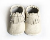 Leather baby moccasin toddler moccs soft-soled shoe handmade baby moccs