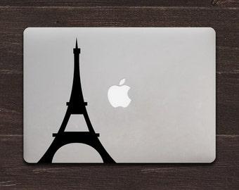 Eiffel Tower, Paris Vinyl MacBook Decal BAS-0218
