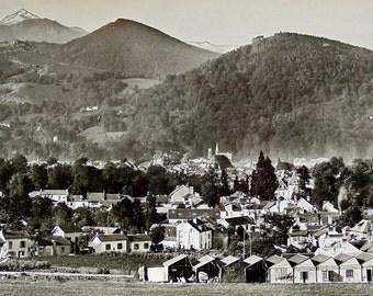 Vintage Postcard - Bagneres-de-Bigorre, Hautes-Pyrénées, France