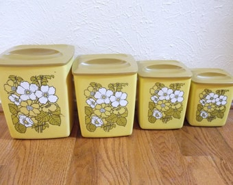 Set of Four Nesting Canisters