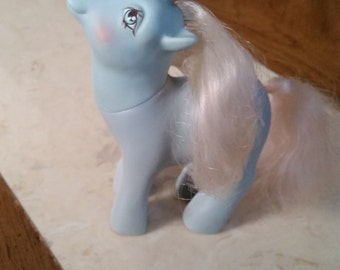 Vintage Gen 1 My Little Pony Coco Berry Sundae Best Scented Unicorn 1980s MLP Unicorn Ice Cream