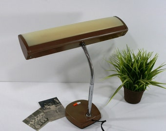 Vintage Mobilite Goose Neck Desk Lamp