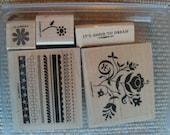 Stampin' Up! Razzle Dazzle Wooden Stamps
