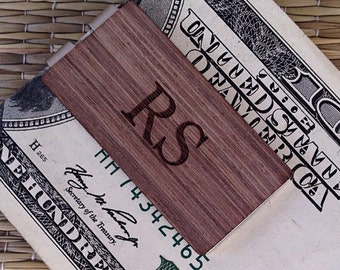 Personalized Engraved Money Clip, Graduation Gift, Groom Groomsmen Gift, Men's Wallet, Men's Gift, Father's Day Gift, Husband Gift, Dad Gift