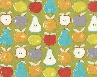 Garden Project - Mixed Fruit in Green Apple by Tim & Beck for Moda Fabrics