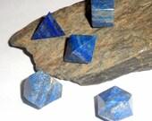 Lapis Lazuli Sacred Geometry Platonic Solids Set Reiki Crystal