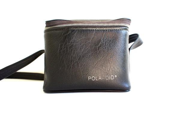 Vintage Black Soft Polaroid Camera Carry Case