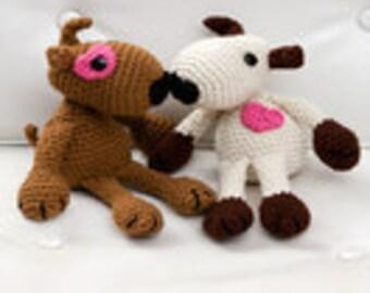 Crochet Amigurumi Puppy Love Toy