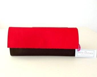 Red envelope wallet, vegan wallet red wallet womens, vegan wallet coin purse, womens credit card holder, slim wallet for card wallet
