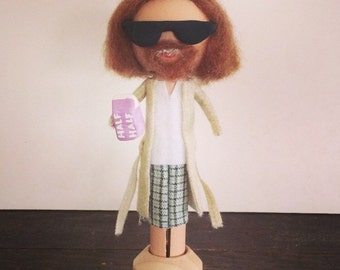 The Dude Clothespin Doll - Made to Order