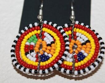 New African Tribal Maasai Earrings