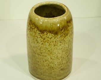 Iron Shino Crackle Glaze, Ceramic Vase 9