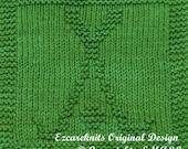 Knitting Cloth Pattern - HOCKEY TIME - PDF