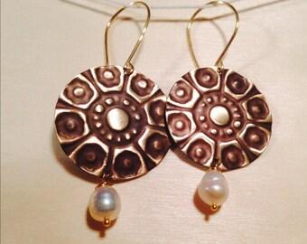 Maktub oh so pure earrings