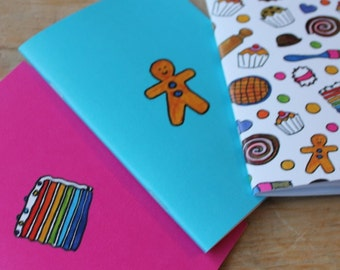 Baking note book set great gift for cooks chefs and sugarcrafters