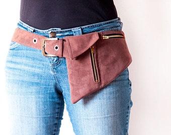 Phone Belt Pocket Pattern or hipster bag or fanny pack sewing pattern