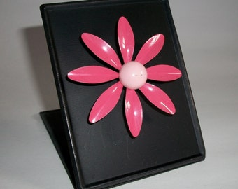 My RePurposed UpCycled Magnets From 1960s Flower Power Brooch Pins 22