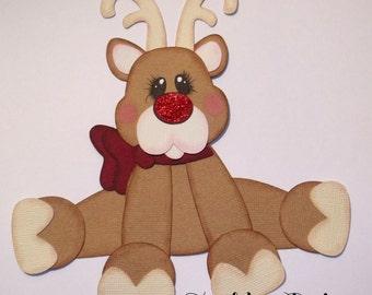 Premade Paper Piecing - Reindeer