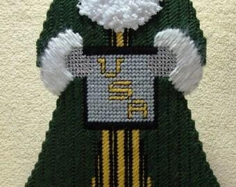 U.S. Army Santa Centerpiece