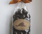 Dark Chocolate Covered Almonds with Martha's Vineyard Sea Salt® 70% Cacao Chocolate Enchanted Chocolates