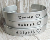 SET of 8 Bracelets CUSTOM I Couldn't Say I Do Without You Hand Stamped Jewelry Cuff Bracelets Wedding Party Bachelorette Best Friends