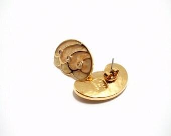 Avon 1988 Papillion Collection Pierced Earrings Kenneth J Lane Butterfly Earrings Vintage Avon Vintage Enamel 80s Earrings