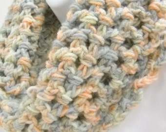 Chunky Cowl, Neckwarmer, Circle Scarves,  Winter Accessories, Crochet Scarves
